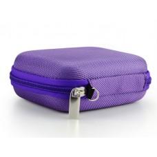 Rollerbottle 10ml, essential oil case, purple- storage bag for 10 bottles.