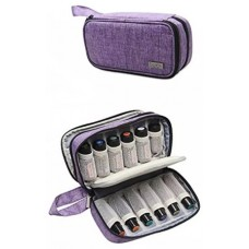 Essential Oil Carrying Case -Holds 12 rollerbottles ( 10 ml ) ,  also 5ml-15ml essential oil bottles.