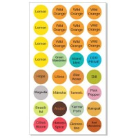 Label sheets for new oils ( sheet of 32 )