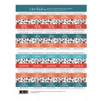 I am Fabulous Label sheets (sheet of 40)