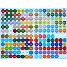 doTERRA All Oils Cap Stickers - ( sheet of 192 )