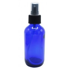 120 ML BLUE GLASS BOTTLE WITH MISTING SPRAY TOP