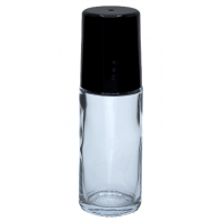 30 ML CLEAR GLASS ROLL- (PACK OF 2)