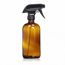 500ml dark amber spray bottle