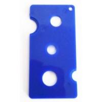 OIL BOTTLE OPENER-  BLUE