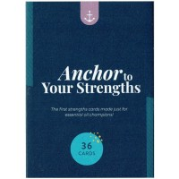 ANCHOR TO YOUR STRENGTHS CARD DECK -34 CARDS – ENGLISH