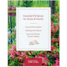 ESSENTIAL OIL SPRAYS FOR HOME AND FAMILY BOOKLET