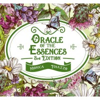 ORACLE OF THE ESSENCES BOOKLET AND CARDS - 3rd edition