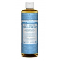 Dr. Bronner's baby unscented pure castile liquid soap 475 ml